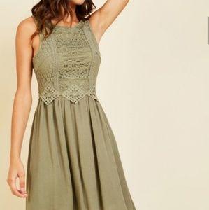 ModCloth - Doe & Rae - Cider Insider Dress - Sz S